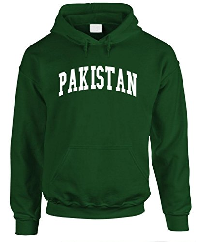 Pakistan   Country Pride Homeland Nation   Mens Pullover Hoodie  M  Forest