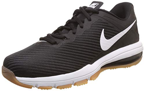 Nike Men's Air Max Full Ride Tr 1.5 Black/White Ankle-High Fabric Training Shoes - 11M