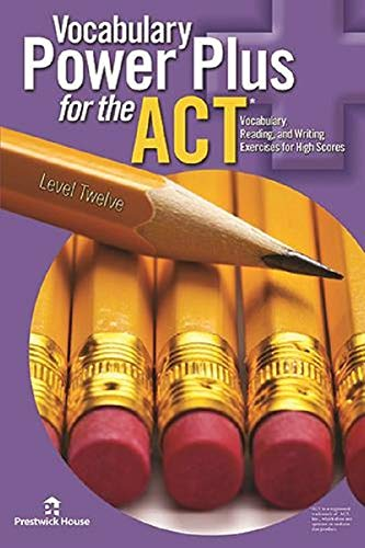 Download Vocabulary Power Plus for the ACT - Book Twelve PDF