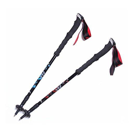 DSZ® Outdoor ultralégers bâtons de randonnée en fibre de carbone bâton de randonnée Randonnée alpenstock bâtons d'escalade
