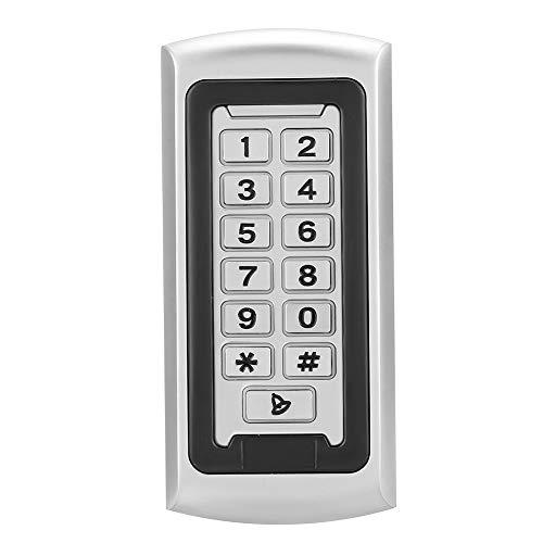 Security Access, IP68 Wiegand 26 RFID Outdoor Digital Keyboard Reader Burglar Alarm(Waterproof)