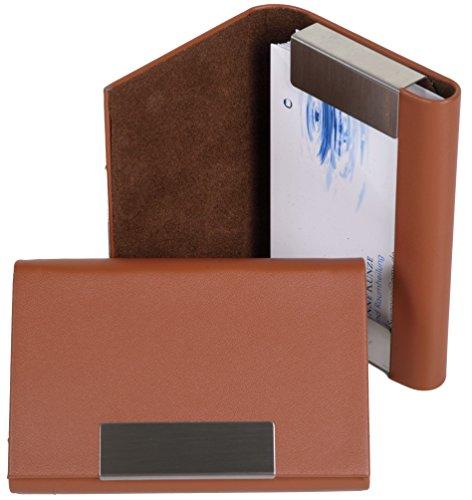 para Caja Tarjetas Marrón de K Visita Designs ERqwnFZ