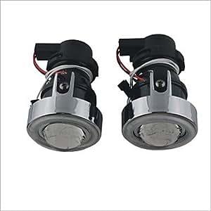 12V 55W de la lámpara halógena de niebla del coche de la luz con CCFL Angel Eyes (luz roja)