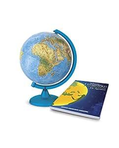Deagostini globo terr queo luminoso con atlas geogr fico - Globo terraqueo amazon ...