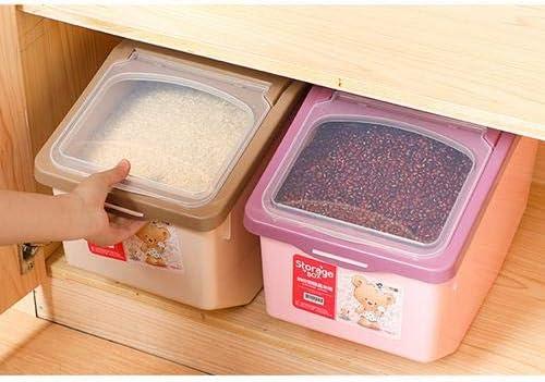 5kg di Cereali con Grande capacit/à Scatola Sigillata per Alimenti per Animali Domestici Cereali Dadahuam Contenitore per Alimenti Fagioli Riso