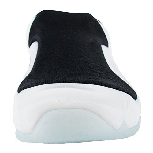 Nike Solo Dia Sandaal Clogposite Wit Wit Zwart 644585 100