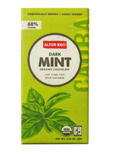 Alter Eco - Dark Mint Organic Chocolate - 2.82 oz