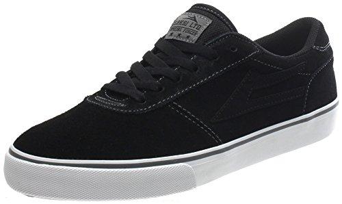 Lakai Manchester Black/Grey Suede Shoe f0ma18U