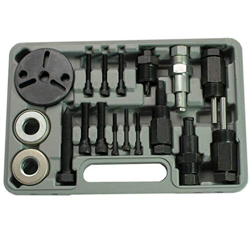 PMD Products 23pc A/C Deluxe Automotive Compressor Clutch Hub Remover Installer Puller Tool w/Spanner Air Conditioner AC by PMD Products (Image #2)