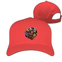 Five Nights At Freddy Hat Unisex-Adult Rap Adjustable Cap RoyalBlue