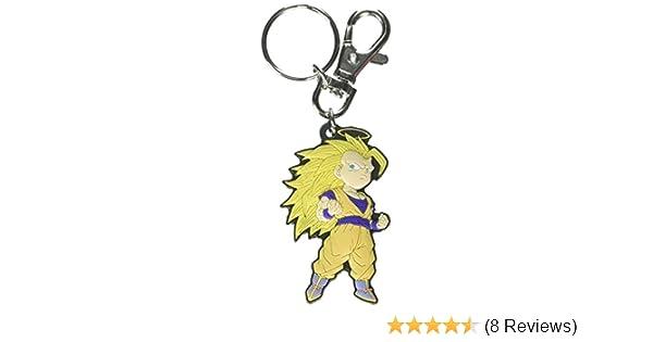 Dragon Ball Z: SD Goku Super Saiyan 3 PVC Keychain