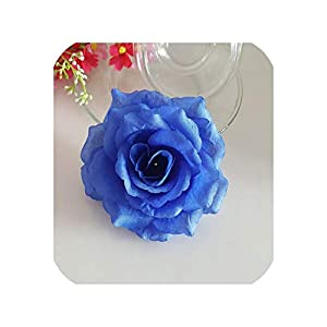 Artificial Rose Flower Heads Wreath Party Wedding Decor Flowers 1pc 120