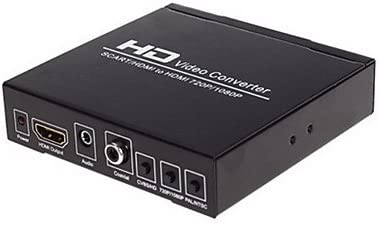 NTSC Scart zu HDMI Konverter f/ür TV Unterst/ützung PAL PAL//M SECAM 1080P 60Hz Scart zu HDMI Adapter PAL//N f/ür Computer Monitor Projektor DVD-Player Scart Adapter Video Audio Konverter