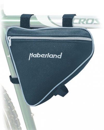 Rahmentasche Haberland klein schwarz, 24x23x5cm, 2 ltr