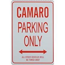 CAMARO Parking Only - Miniature Fun Parking Signs