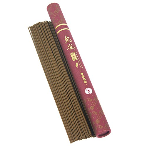 "Agarwood Aloeswood HoiAn Incense Sticks 8"" 20g 55sticks 0.15mm"
