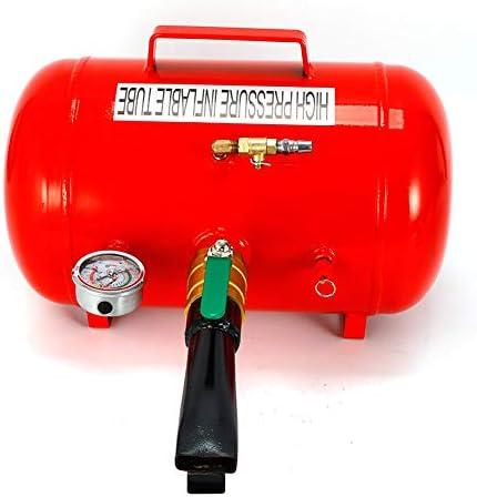 Yiyiby Reifen Reifenfüller Booster Reifenschockfüller Airbooster Luftkanone Montage Befüllhilfe 20l 5 Gallone Auto