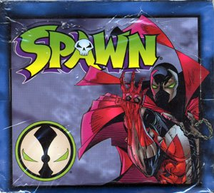 (1995 Spawn Collector Cards Box)