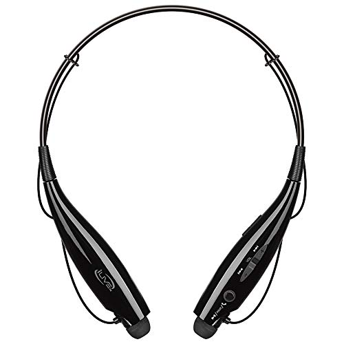 iLive Bluetooth Neckband Earbuds, Include 3 Sets of Ear Tips and Micro-USB to USB Cable, Black (IAEB18B)