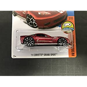 '11 CORVETTE GRAND SPORT Treasure Hunt 2016 Hot Wheels 22/250 HW DIGITAL CIRCUIT