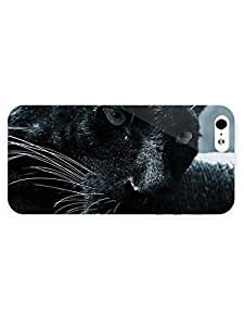 3d Full Wrap Case for iPhone 5/5s Animal Black Panther24