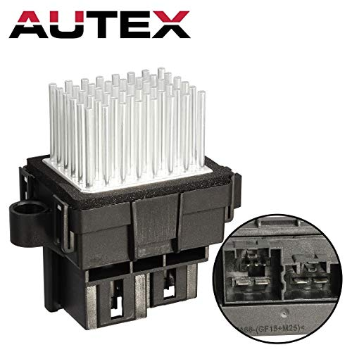 AUTEX ATC HVAC Blower Motor Resistor Compatible with Chrysler 300,Dodge Charger 2008-2010,Chrysler Town & Country 09-16 Replacement for Dodge Grand Caravan 10-17,Ram C/v 12-15 AC Blower RU684 (2014 Chrysler Town And Country Air Conditioning Problems)