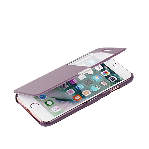 iPhone 7 case, MTRONX Window View Magnetic Closure