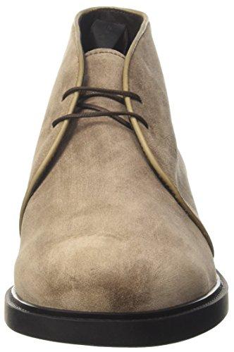 Fratelli Rossetti Herren 44727 Combat Boots Grigio (Pietra)