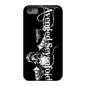 AaronBlanchette Iphone 6 Shock-Absorbing Hard Phone Cases Allow Personal Design Fashion Avenged Sevenfold Band A7X Pictures [wTL14230bPnn]