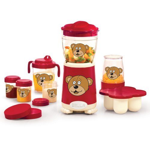 BELLA 13617 Baby Rocket Blender, Red by BELLA