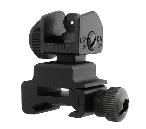UTG Flip-up Rear Sight