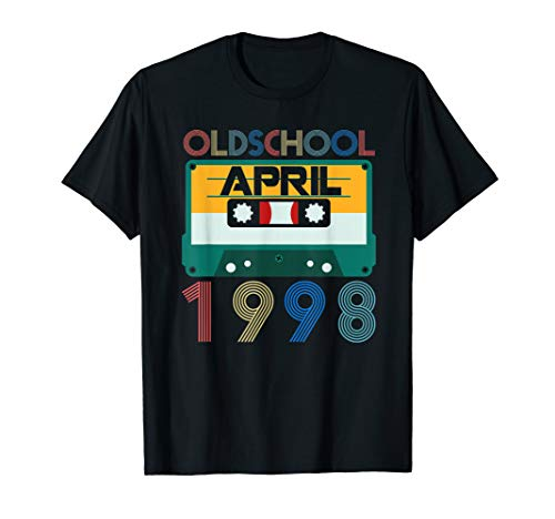 April 1998 Tshirt Vintage 21st Birthday Decorations Him Her]()