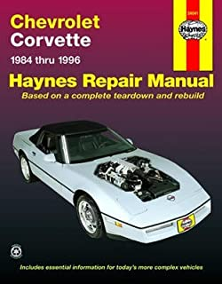 amazon com haynes manuals haynes repair manual for chevrolet rh amazon com Street Speed 717 Corvette 2000 corvette shop manual