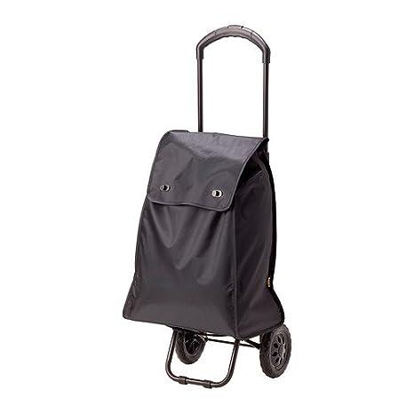 IKEA KNALLA - bolso de compras sobre ruedas, color negro - 75 x 58 x 201 cm: Amazon.es: Hogar