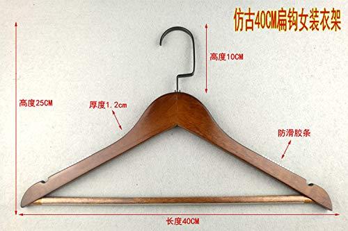 Kexinfan Hanger High-End Solid Wood Hanger Clothes Hanger Ha