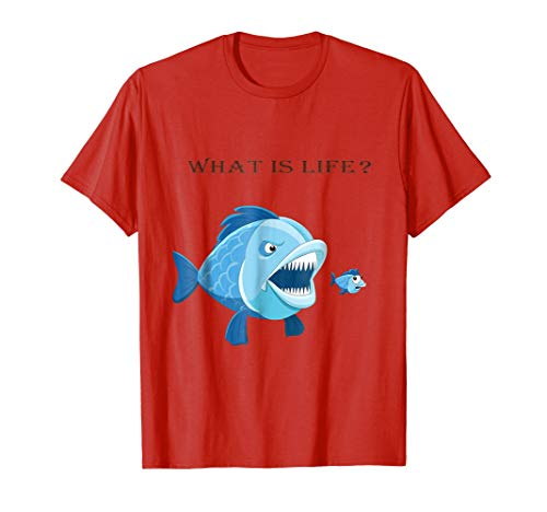 - what is life cut t-shirt for people