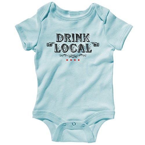 (Smash Transit Baby Drink Local Chicago Creeper - Light Blue,)