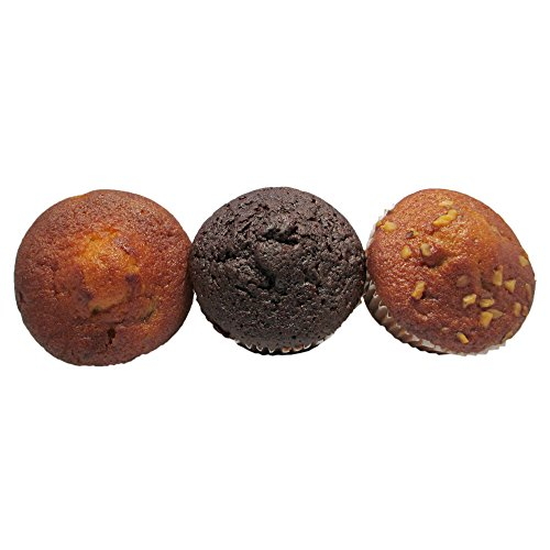 Burry Cake Muffin Variety (Blueberry, Banana Nut,Chocolate Chocolate Chip) 2 oz., (120 count) by Burry (Image #1)