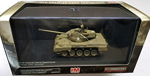 Hellcat Tank - Hobby Master 1:72 Scale Die-Cast Display Model M18 Hellcat Tank Destroyer (Germany 1944