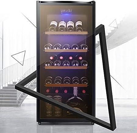YFGQBCP Inicio termostato de Baja vibración de bajo Ruido Bar de Hielo Vino Incorporado, Independiente del refrigerador de Vino Chiller táctil de Control de Aire refrigerado