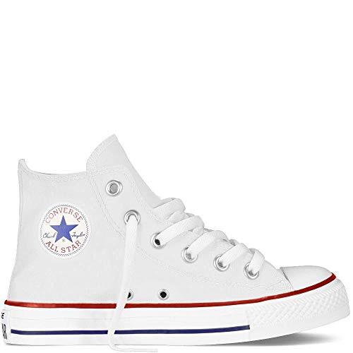 Converse Chuck Taylor A/S Ox Infant Unisex Casual Sneakers, Size 3, Color Optical White -