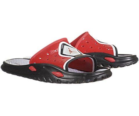 Air Jordan Camp Slide 3 - Black / Varsity Red-White, 13 D US
