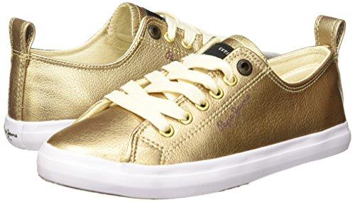 Oro Barry Casual Mujer Pepe Jeans para Tenis xA6aw0nY