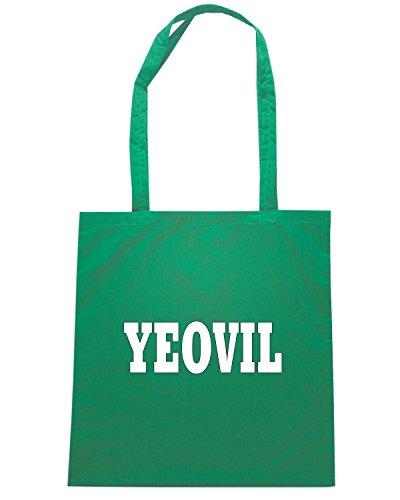 T-Shirtshock - Bolsa para la compra WC0776 YEOVIL Verde