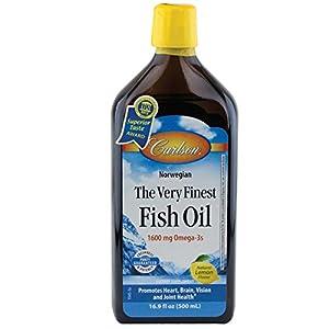 Carlson The Very Finest Fish Oil Liquid Omega-3 Lemon, 500ml