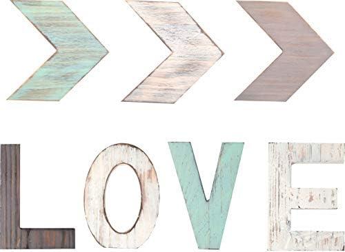 Freestanding Letters Multi Color Decorative Farmhouse product image