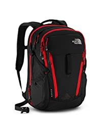 The North Face Surge Backpack - black/pompeian red, one size