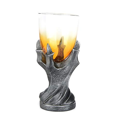 (Antaram Wine Glasses - Halloween Gothic Resin Stainless Steel Dragon Skull Retro Claw Wine Glass Cocktail Glasses Whiskey - Love In Olivia Joke Zweisel Copper About Box Sippy You)