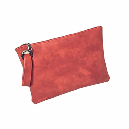 Hunputa%C2%AE Leather Handbag Evening Envelope