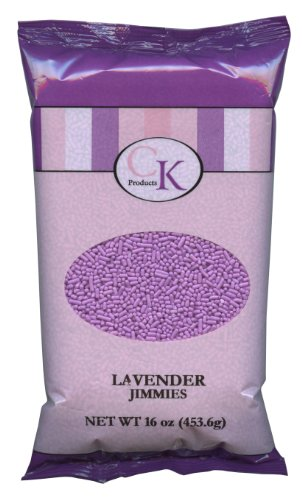 (CK Products 16 Ounce Jimmies/Sprinkles Bag, Lavender)
